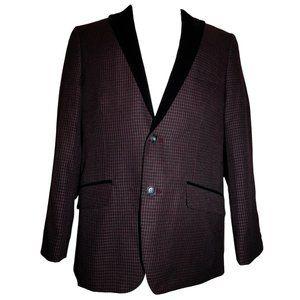 1926 ORIGINALS by HAGGAR Plaid Suit Jacket 42R